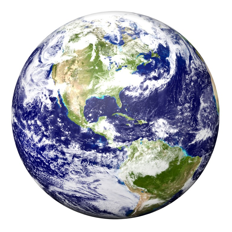 earth-white-background